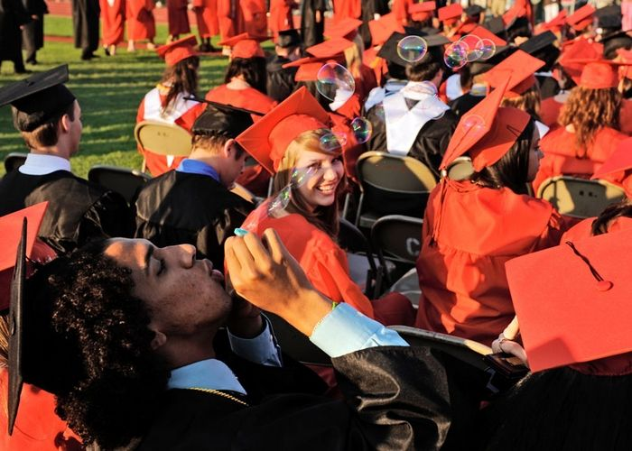 Fitch graduates hold onto memories, Photo 1 of 7