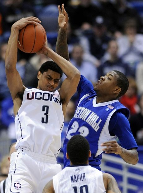 UConn over Seton Hall, Photo 2 of 4