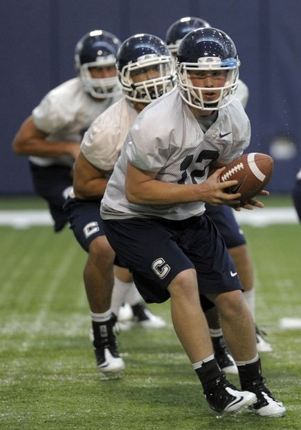 Huskies first day of spring practice, Photo 2 of 5