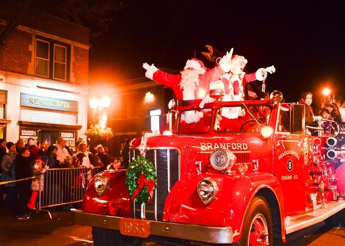 Holiday Parade in Branford, Photo 1 of 25