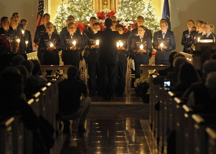 Christmas service at the Academy, Photo 1 of 4
