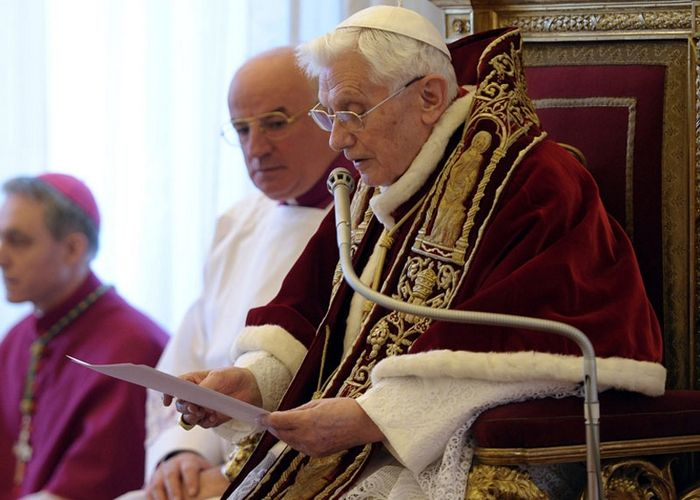 Pope Benedict XVI to resign, Photo 1 of 7