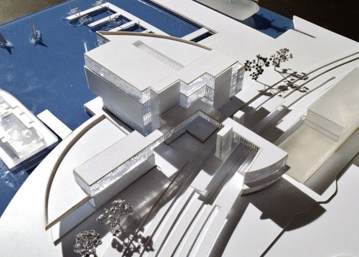 Renderings of proposed U.S. Coast Guard Museum, Photo 1 of 7
