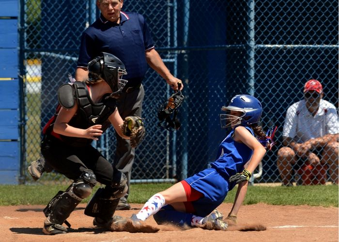 Game 2 of the District 10 Little League Softball Championship Series, Photo 1 of 10