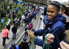 UConn women's Hartford parade
