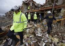 Rescuers search Texas fertilizer plant ruins