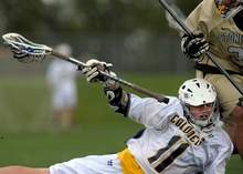 Stonington beats Ledyard, 10-9, in boy's lacrosse