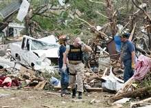 Tornadoes strike Texas