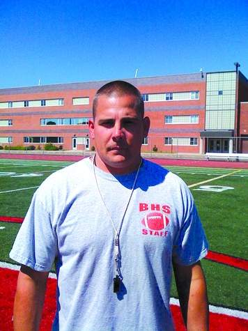 After 15 seasons coaching with the program, including the last four as head coach, Mike Tracy has stepped down from his position with Branford Hornets' football. Photo courtesy of Jen Kohut