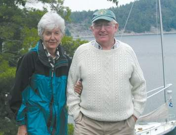 Pictured here in the Benjamin Islands, Ivoryton resident Beverly Astles can certainly say she has never met a waterway she did not like-with her husband Dick, she has sailed more than 7,500 miles to explore some of America's greatest bodies of water.