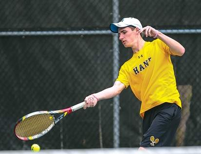 Senior co-captain Alex Reiger and the Hand boys' tennis squad look to continue their success after a 2013 campaign that saw them claim a SCC Division I Tournament title before sharing a Class L state crown.