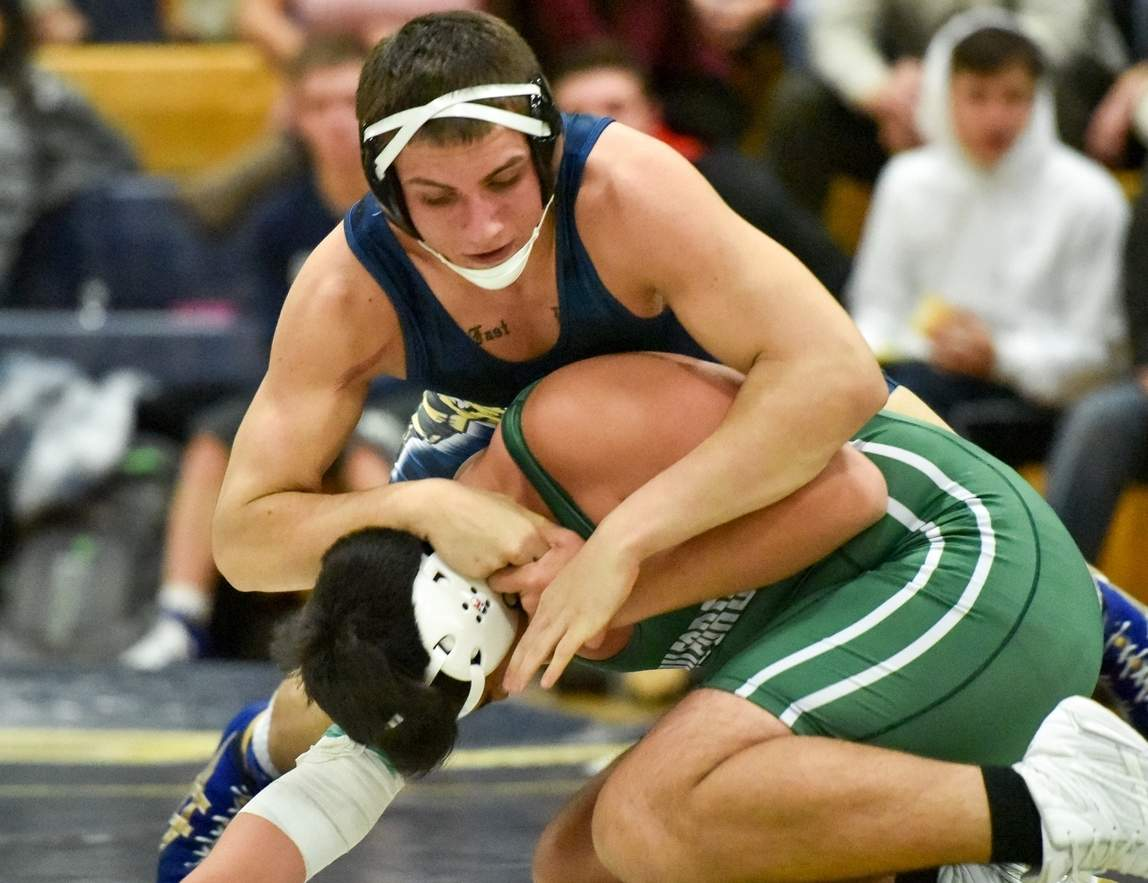 Tim Seksinski continues to be a force for East Haven's wrestling team, having lost just one match all year.