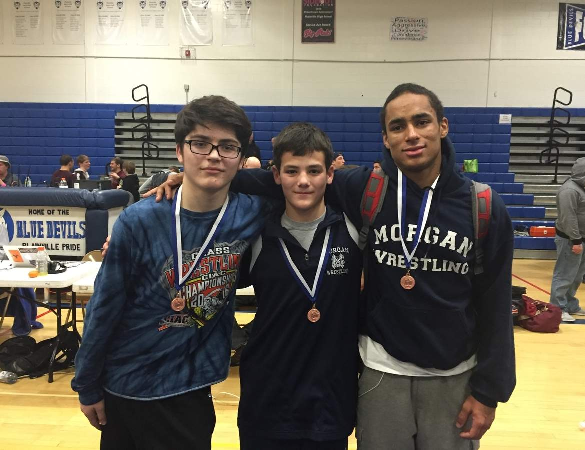 Joe Bradley, Trevor Follo, and Malik Shipman were Morgan's top finishers at the Class S State Championship. The Huskies finished in 10th place as a team.