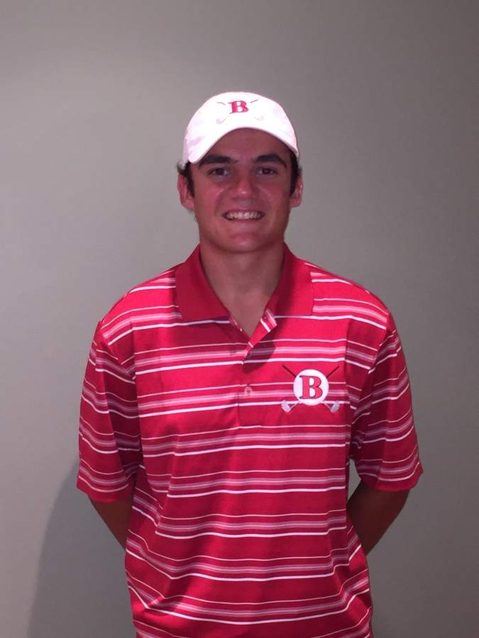 Ryan Sember had an excellent junior season for the Branford golf team that saw him finish in ninth place at the Division II State Championship.  Photo courtesy of Ryan Sember