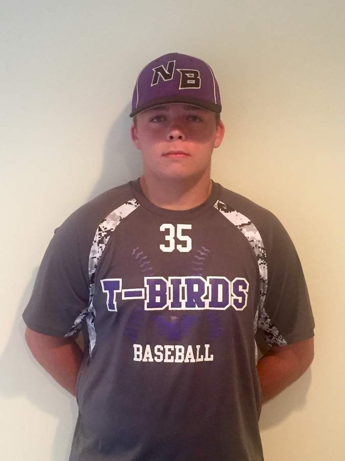 Chad Deming flourished on the mound in the second half of his junior year and throughout his entire senior season with the North Branford baseball team.  Photo courtesy of Chad Deming