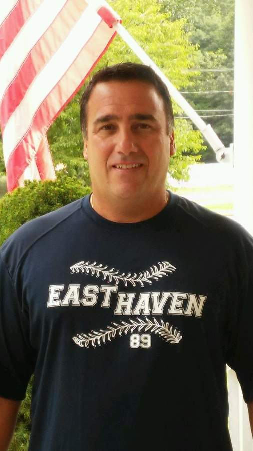 Mike Carbone has been coaching in East Haven for years and continues to take on larger roles as his two sons move up the baseball ranks in town.  Photo courtesy of Mike Carbone