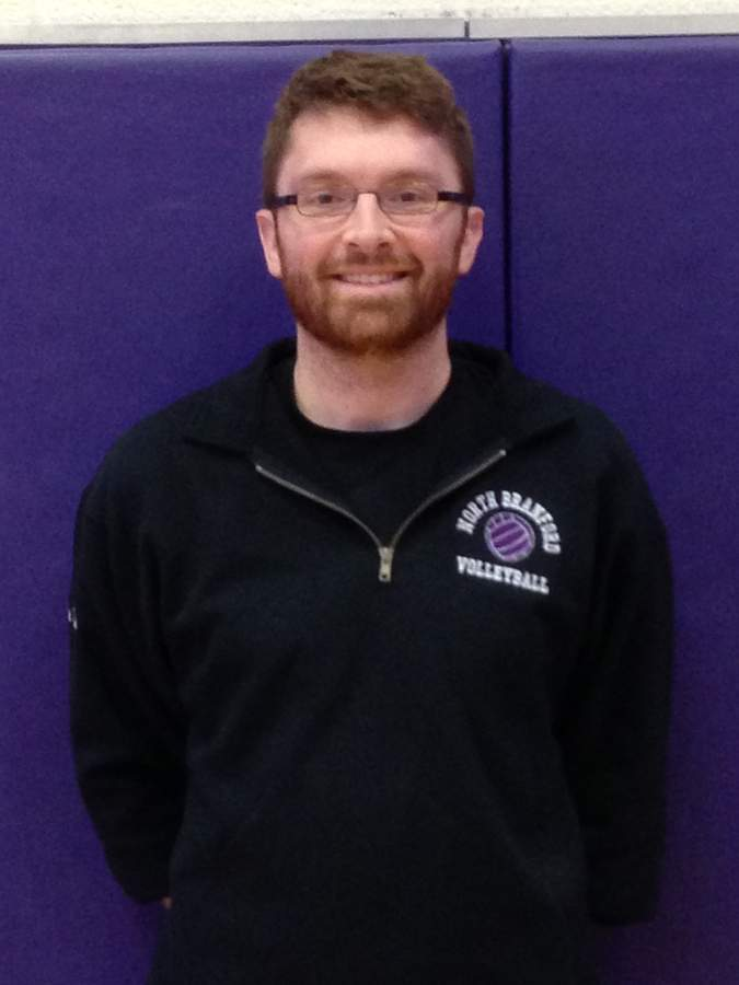 Jake Sweet is a coach for all seasons in North Branford and is currently in the home stretch of his debut campaign as an assistant with the T-Birds' volleyball squad.  Photo courtesy of Jake Sweet