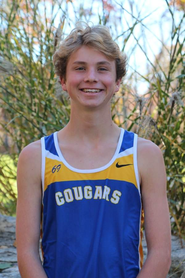 Dan Schumann recently completed a historic junior season with the Haddam-Killingworth boys' cross country squad. Dan claimed the individual title at the Shoreline Conference and Class SS state meets, while helping the Cougars take first place at both competitions.  Photo courtesy of Dan Schumann