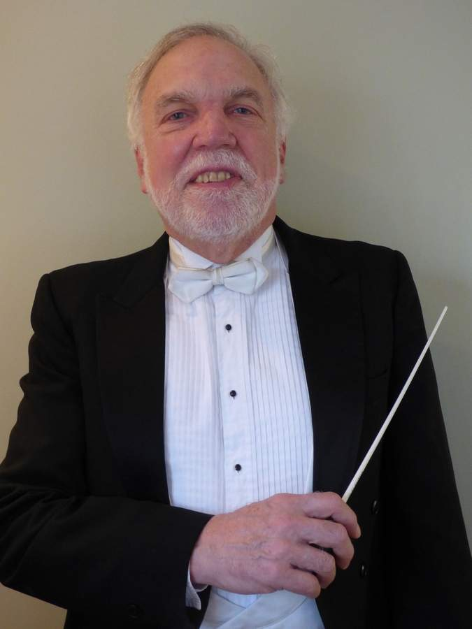Conductor Roy Wiseman returns once again to lead the Branford Messiah for its 29th annual performance at Branford's First Congregational Church on Sunday, Dec. 18, 5:30 p.m. As the performance date nears, Roy and many others are proud to carry on a Branford tradition founded by their friend, the late Ettie Minor Luckey.  Photo Courtesy Roy Wiseman
