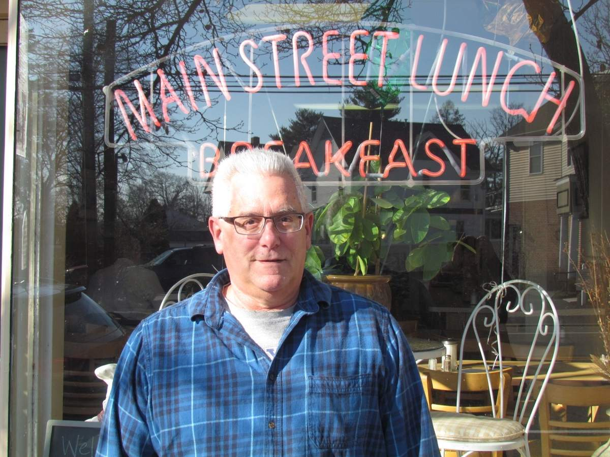 After 30 years serving up breakfast and lunch at Branford's Main Street Lunch, owner Lou Ditolla is leaving the daily grind to enjoy the next chapter of his life. The last day of business for the restaurant ends at noon on Dec. 30. Photo by Pam Johnson/The Sound