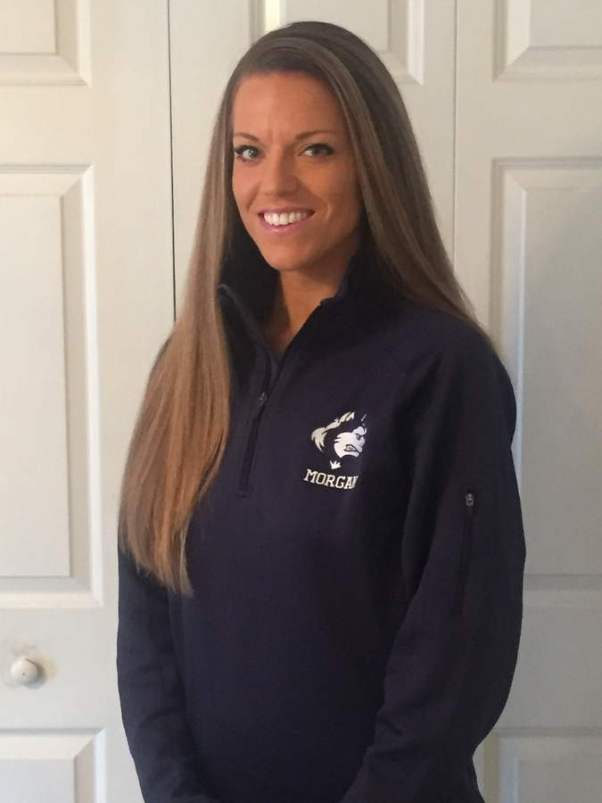 Caitlin Woods, a former assistant coach for Old Saybrook girls' basketball, takes over as the head coach for Morgan this year. Caitlin grew up in Ivoryton and went to high school at Old Saybrook. Photo courtesy of Caitlin Woods