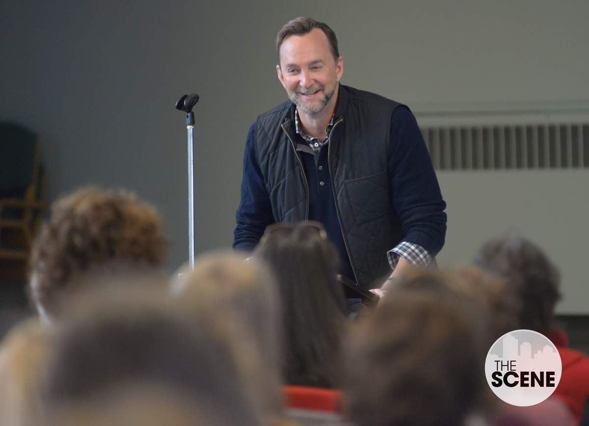 R.J. Julia hosted Clinton Kelly's book signing for
