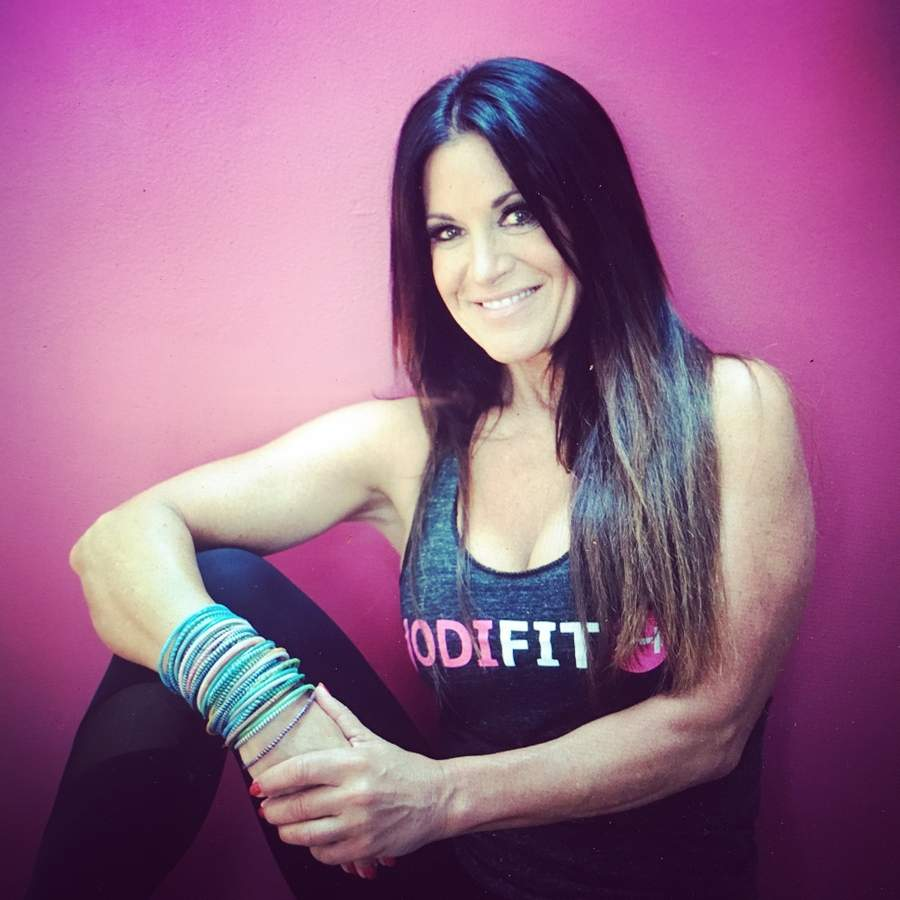 Jodi Harrison, the owner of Jodi Fit and a fitness competition champion, loves inspiring others to reach their health and fitness goals.  Photo courtesy of Jodi Harrison