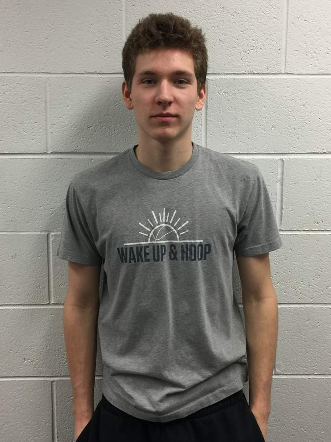 Senior captain guard Liam Bell is averaging more than 20 points and nearly 10 rebounds a night for the Westbook boys' basketball squad, which owns a record of 6-1 this season.  Photo courtesy of Liam Bell