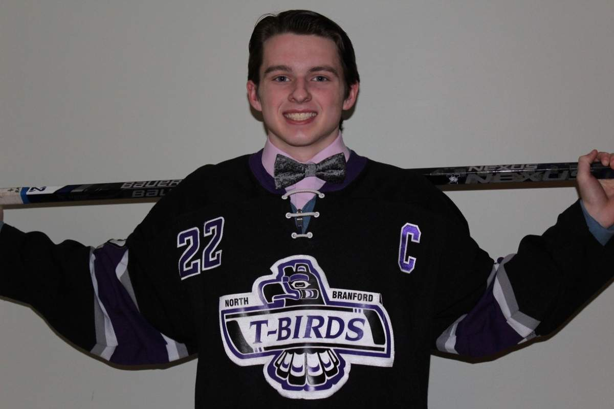Senior captain center Brian McKee has netted 12 goals for the North Branford boys' ice hockey team this winter, including seven in a recent three-game stretch.