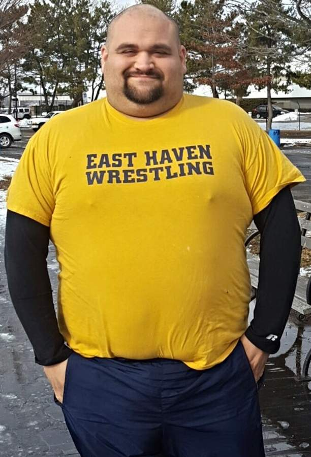 For the past 13 years, East Haven High School graduate Nick Gargano has made a positive impact on both the middle school wrestling team, as well as the town's Youth Football prorgam as a coach. Photo courtesy of Nick Gargano