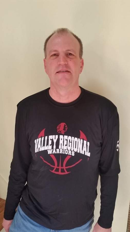 Scott Harger guided the Valley Regional freshman boys' basketball team to a 14-4 record this season and is looking forward to seeing his athletes move up the ranks during the next few years. Photo courtesy of Scott Harger