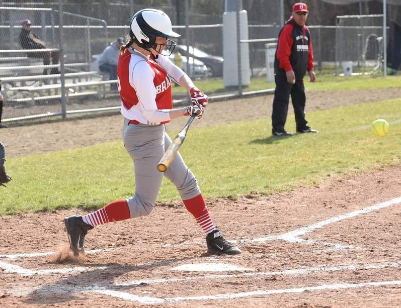 Junior shortstop Marisa Minore looks to follow up her monster sophomore campaign with more prolific offensive numbers in her junior year with the Branford softball squad this spring. Photo by Kelley Fryer/The Sound