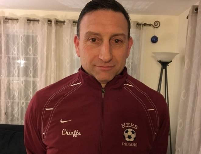 Reid Chieffo has been a fixture on the North Haven soccer scene for many years.  This year, Reid takes the reins as the new head coach of the boys' soccer squad at  North Haven High School. Photo courtesy of Reid Chieffo