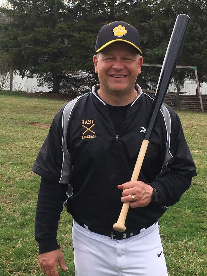 A veteran coach of travel and AAU baseball around the state, Marty Magzag is expanding his coaching experience to the high school game this year as the new freshman coach for the Hand baseball program. Photo courtesy of Marty Magzag
