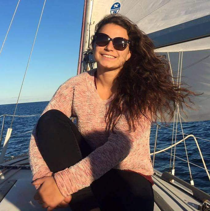 Aimee Merkle-Scotland of Madison is the new head instructor for the children's program of the Clinton Sailing Club. Photo courtesy of Aimee Merkle-Scotland