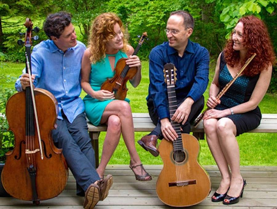 The George Flynn Classical Series will present Fandango in concert on Sunday, June 4. Tickets are free, but must be requested. Photo courtesy of the George Flynn Classical Series