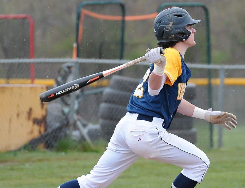 Frank Camera and the East Haven baseball team won two Quinnipiac Division games last week to stand on the cusp of the division title. Photo by Kelley Fryer/The Courier