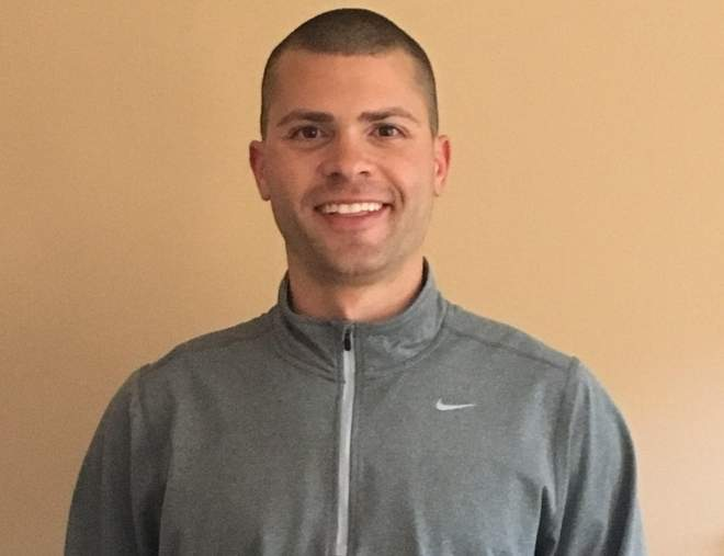 Nick Costanzo was recently named the new head coach of the North Haven boys' ice hockey team. Nick, who helped the Indians win the Division II state title during his freshman year of 2004, works as a police officer in North Haven and also lives in town.  Photo courtesy of Nick Costanzo