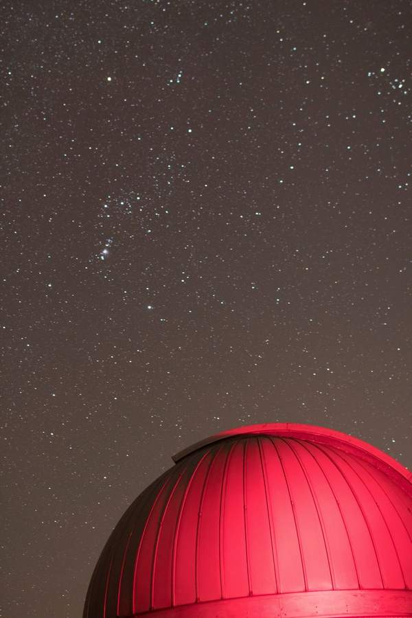 As the Orion constellation   hangs overhead recently, the Frosty Drew observatory in Charlestown, Rhode Island is