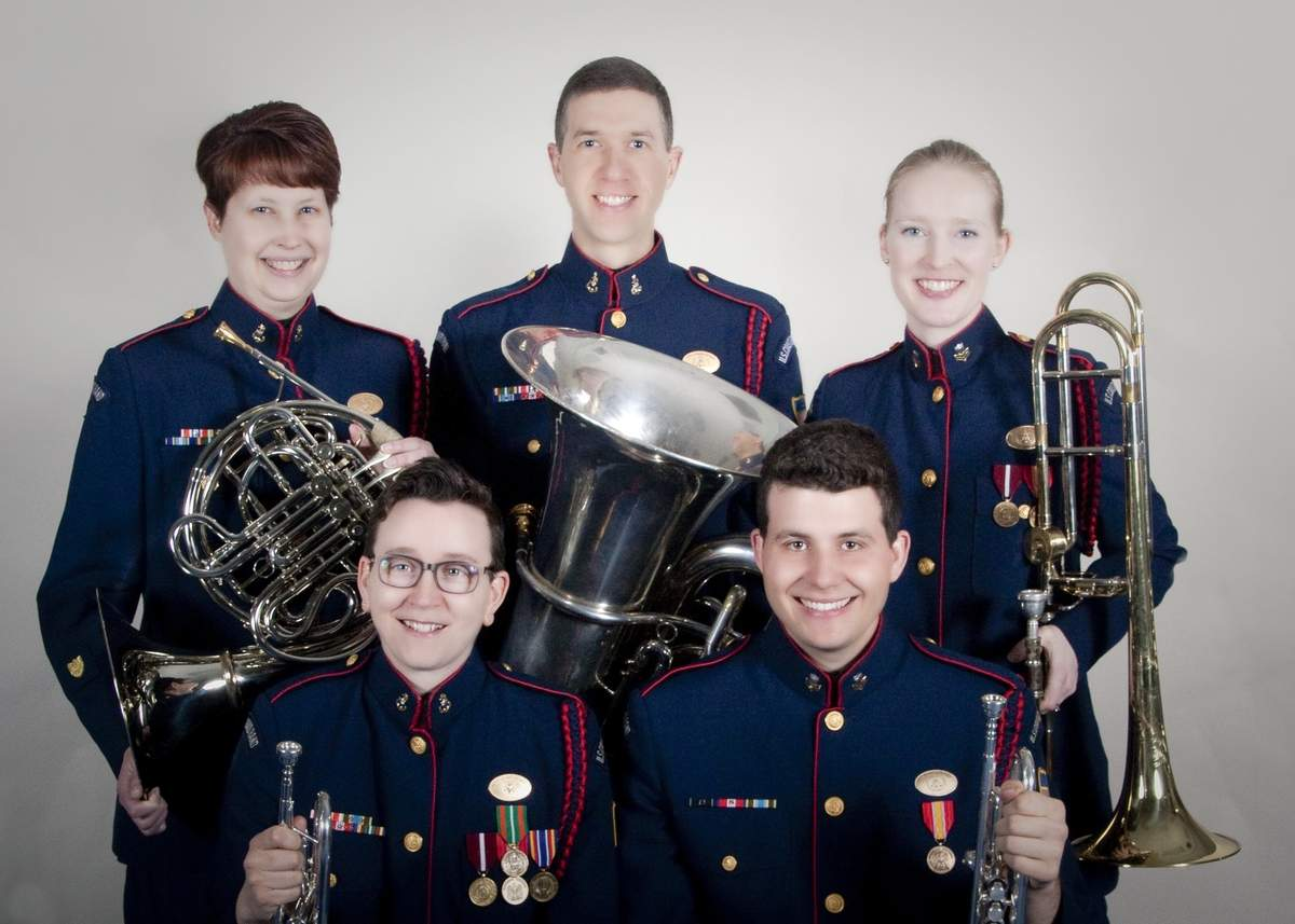 The Coast Guard Quintet will be performing at an upcoming event of the Old Saybrook Historical Society. Photo courtesy of the Old Saybrook Historical Society