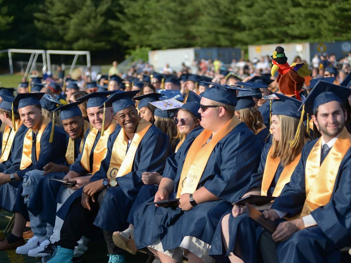 Students Graduate from East Haven High School