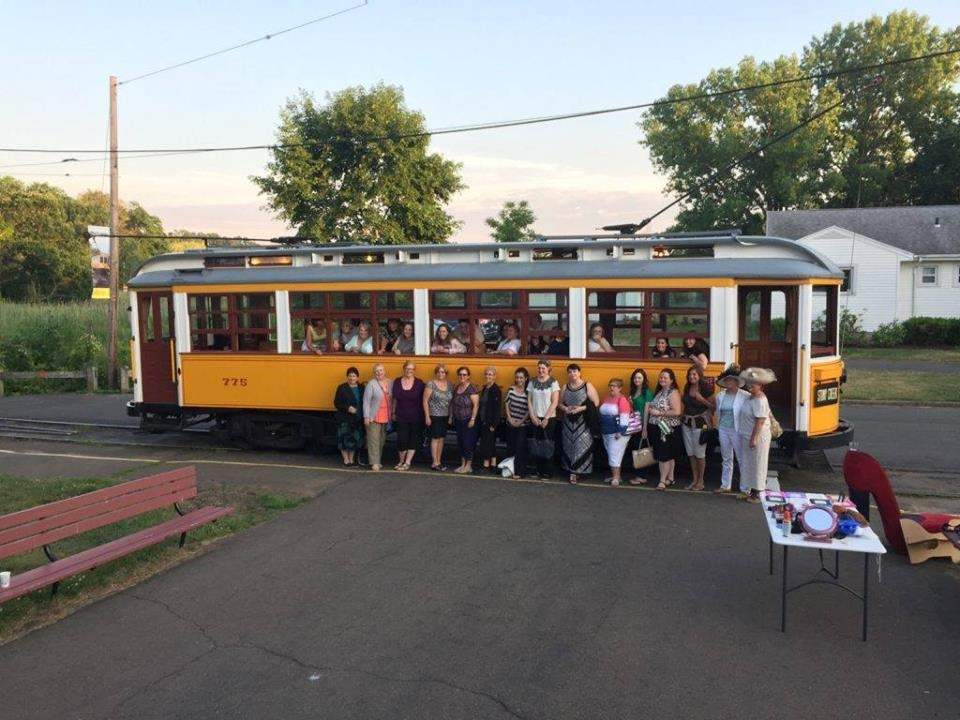 Celebrate girl power during the Shore Line Trolley Museum's Ladies Night Thursday, June 22. Photo courtesy Shoreline Trolley Museum