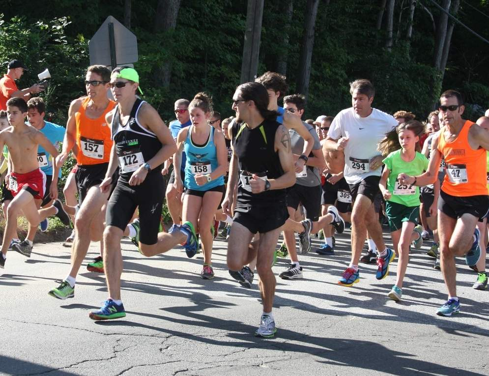 The 20th annual Steward's Ace Hardware Bluefish 5K Road Race will be off and running starting at 9 a.m. on Saturday, Aug. 12. The race begins and ends at Jared Eliot Middle School in Clinton. Photo courtesy of Clinton Chamber of Commerce