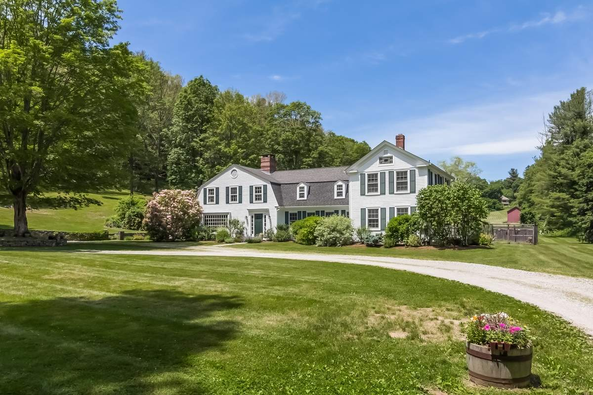 The surrounding land provides a sense of tranquility to this stunning, historic Chester home.