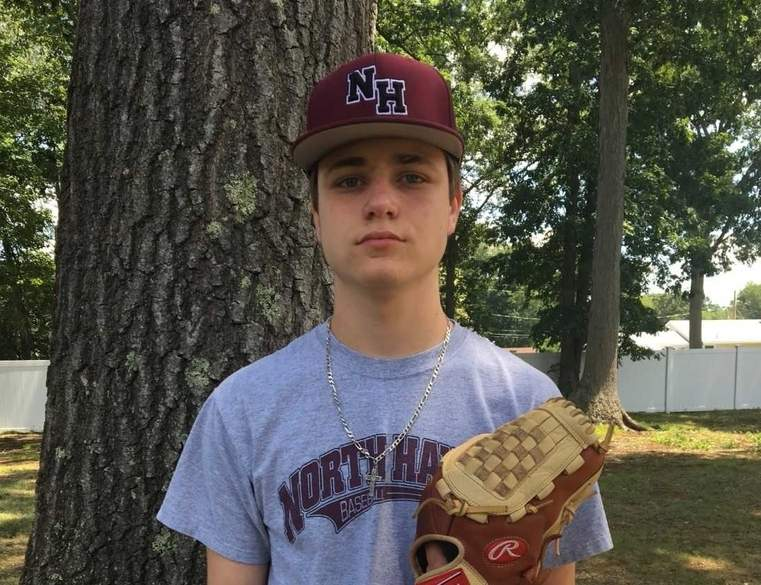 Even though a pair of injuries kept Chris Ciarleglio off the baseball field the last two  spring seasons, nothing could prevent the right-handed hurler from helping the  North Haven Senior Legion baseball team have a great campaign this summer.  Photo courtesy of Chris Ciarleglio
