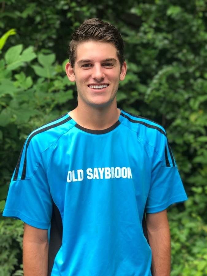 Incoming senior striker Sebastiano Gallitto was awarded with the NFP Sports' Top Seller Scholarship for the 2016-'17 school year after raising more than $4,000 for the Old Saybrook boys' soccer squad. Photo courtesy of Sebastiano Gallitto