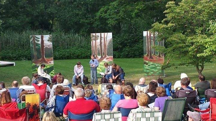 The performance this year is the seventh annual Shakespeare in the Garden production. Photo courtesy of Shoreline Actors Collective