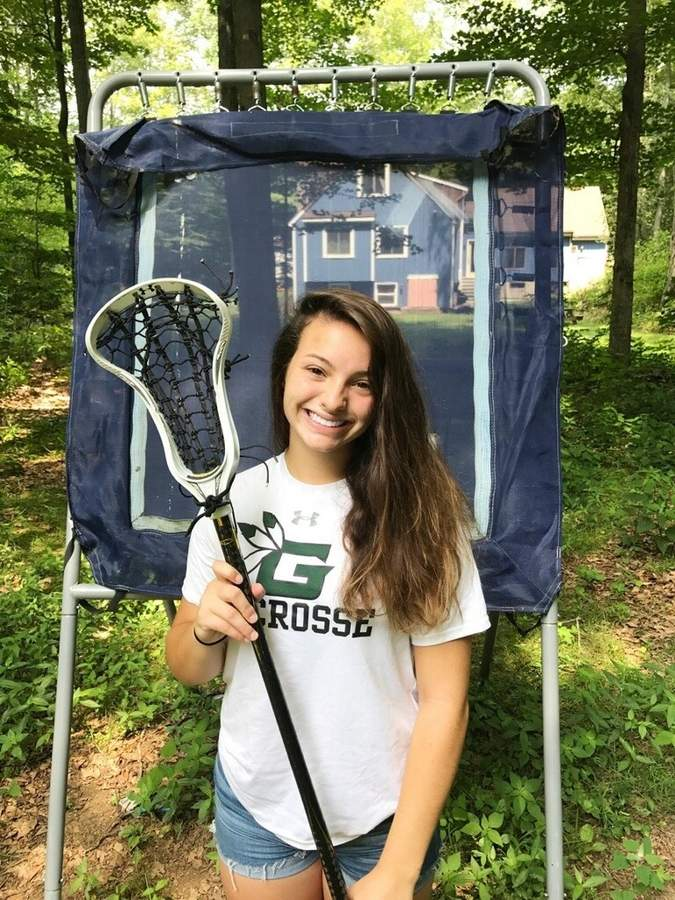 Guilford girls' lacrosse midfielder/attacker Nicolette Spotlow had a sensational sophomore year by notching 67 goals to earn All-SCC and All-State First Team honors, as well as a spot on the New Haven Register All-Area squad. Photo courtesy of Nicolette Spotlow