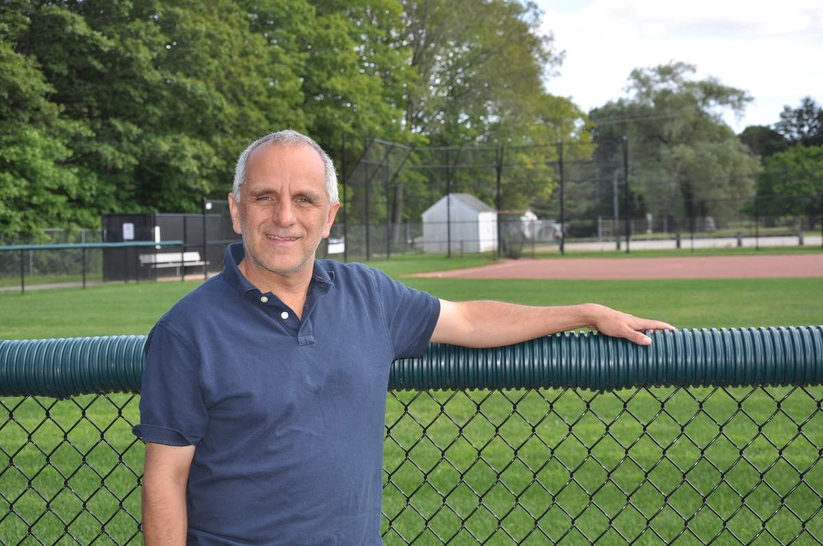 Dan Colonia has been involved in bettering Killingworth's parks for more than 15 years through the Killingworth Park & Recreation Commission. Photo courtesy of Dan Colonia