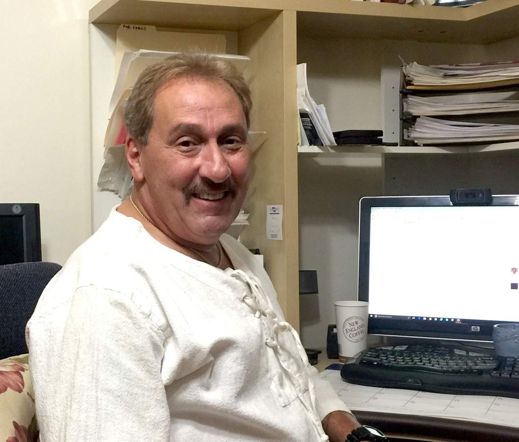 With more than 40 years in the ambulance and rescue services, Caesar Rondina is returning to his love of writing and has several books releasing back to back in the coming years. Photo by Matthew DaCorte/The Courier